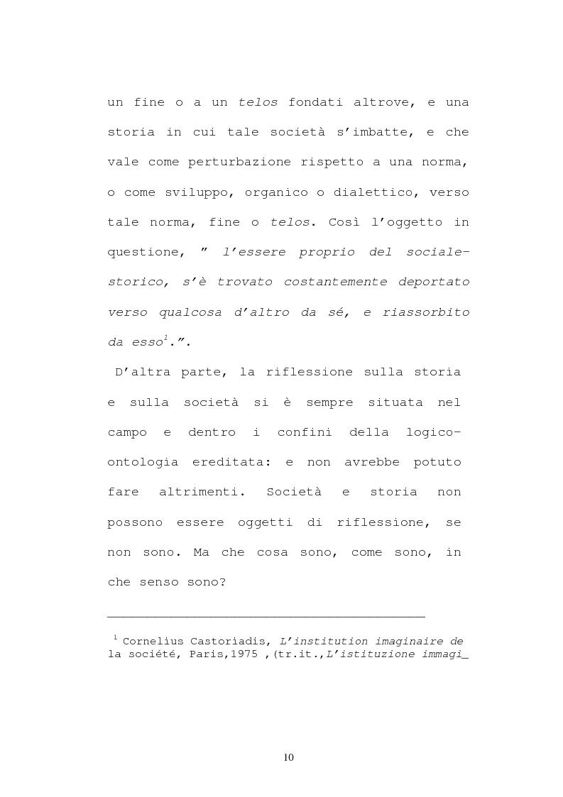 Anteprima della tesi: L'evoluzione del pensiero politico di Cornelius Castoriadis, Pagina 2