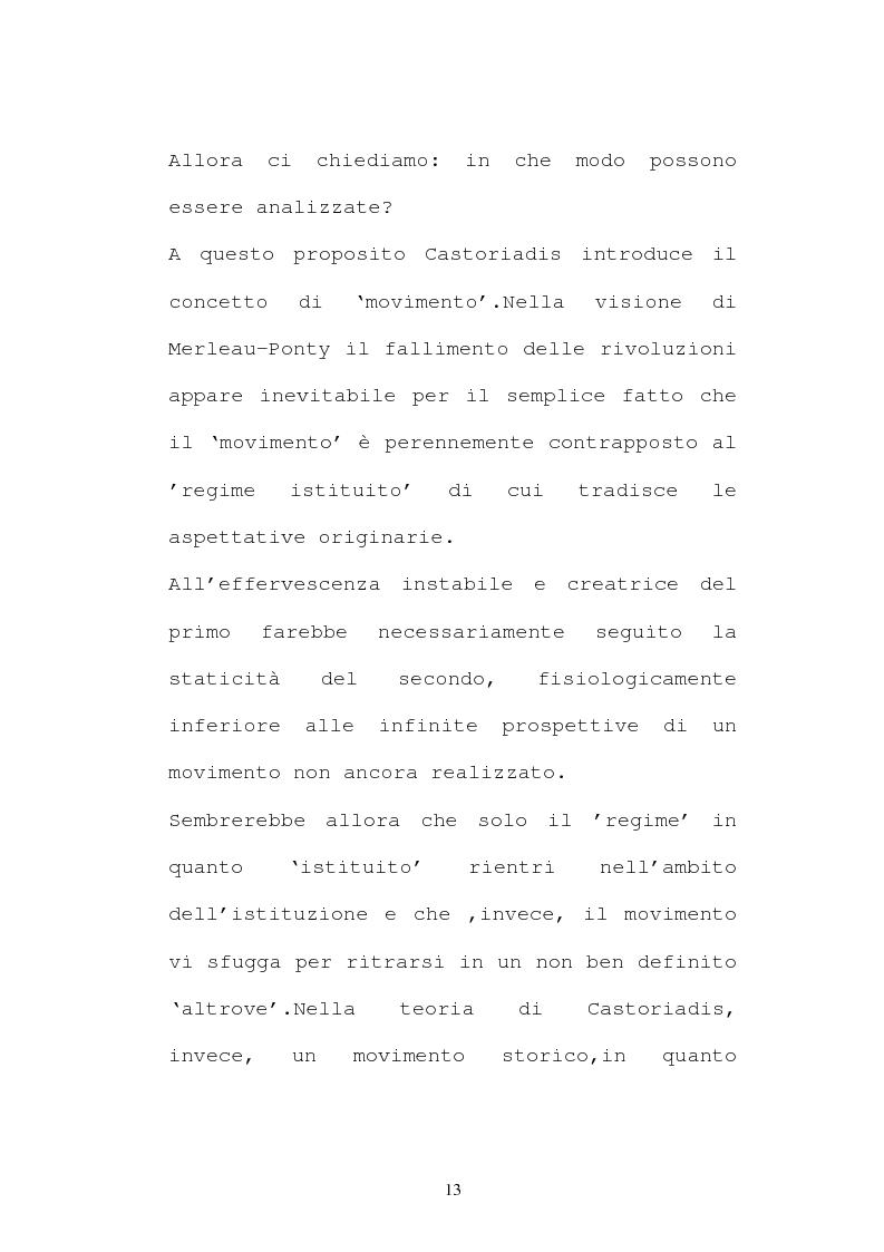 Anteprima della tesi: L'evoluzione del pensiero politico di Cornelius Castoriadis, Pagina 5