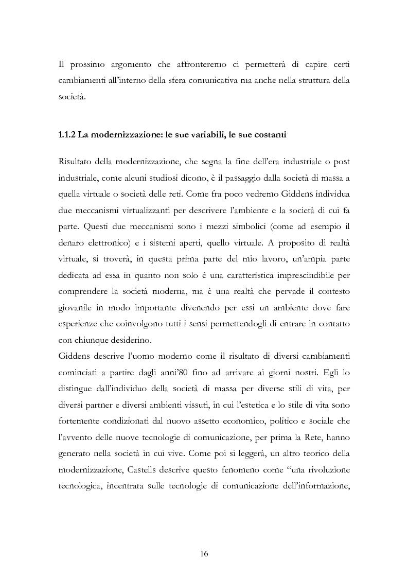 Anteprima della tesi: I New Media I Giovani e la Democrazia, Pagina 12