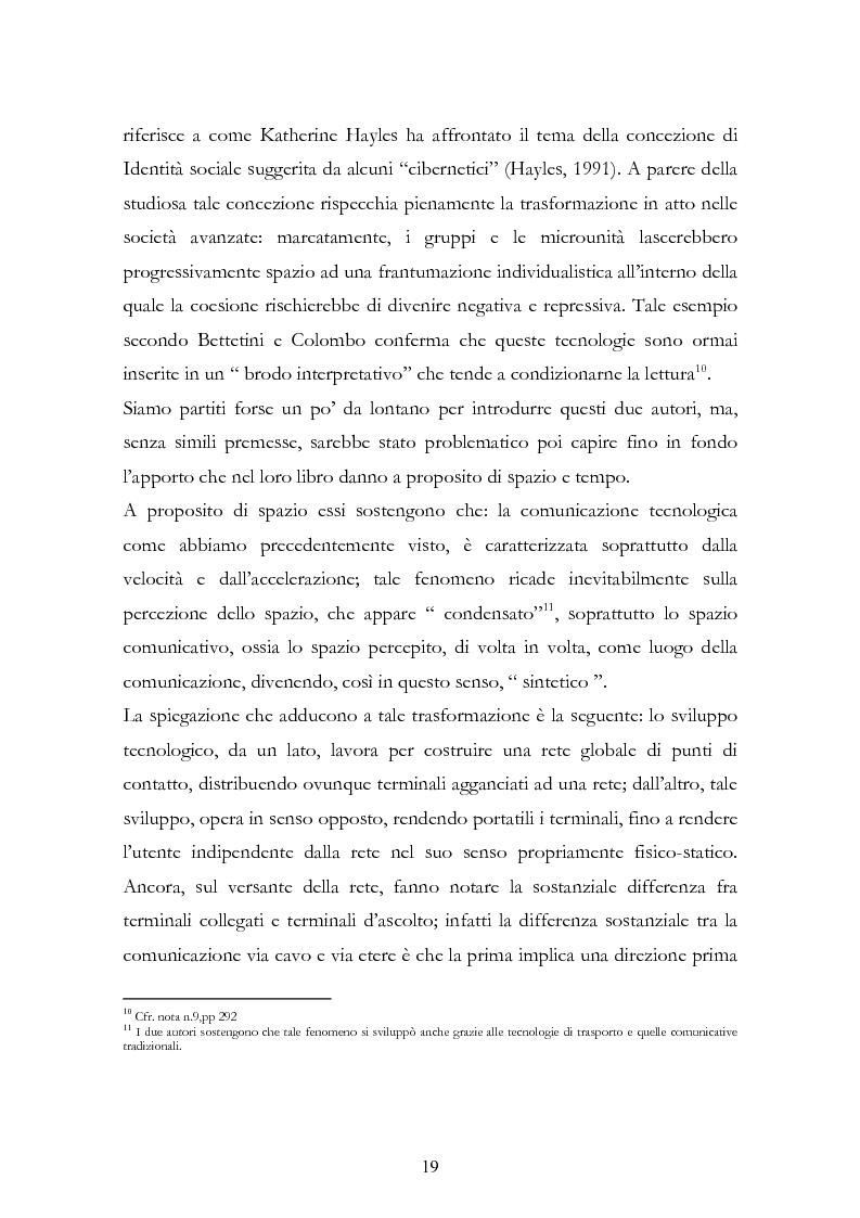 Anteprima della tesi: I New Media I Giovani e la Democrazia, Pagina 15