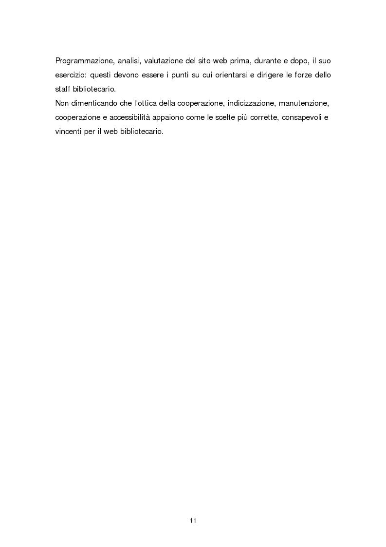 Anteprima della tesi: Il sito web della biblioteca pubblica, Pagina 5