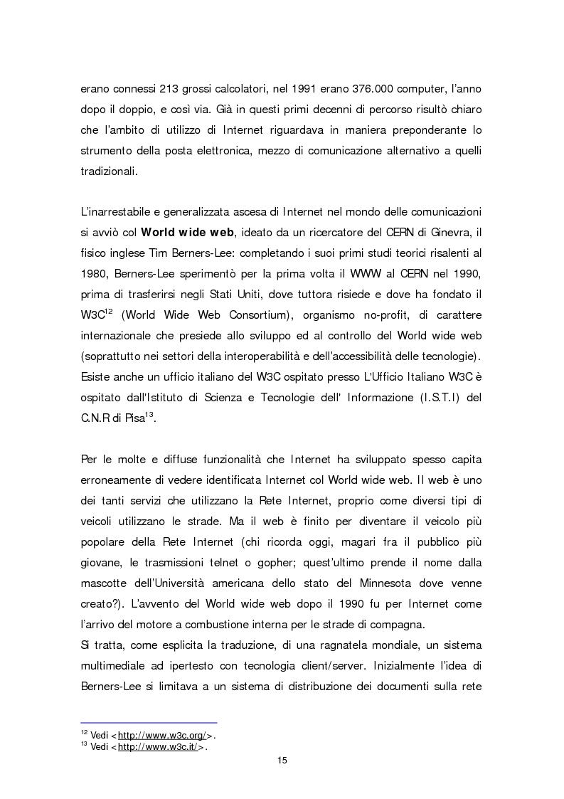 Anteprima della tesi: Il sito web della biblioteca pubblica, Pagina 9