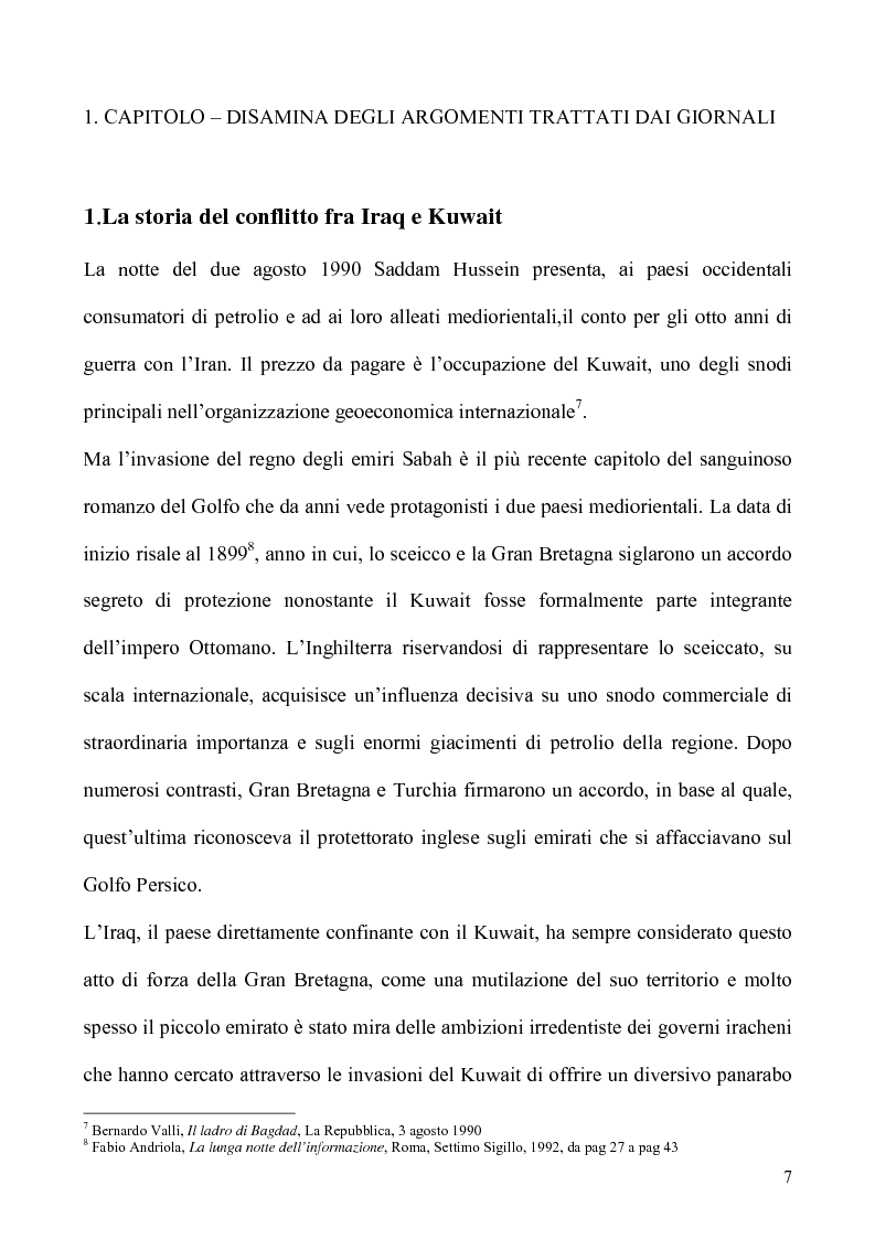 Anteprima della tesi: Un caso di uso pubblico della storia: l'applicazione del paradigma antifascista alla guerra del Golfo del 1991, Pagina 7
