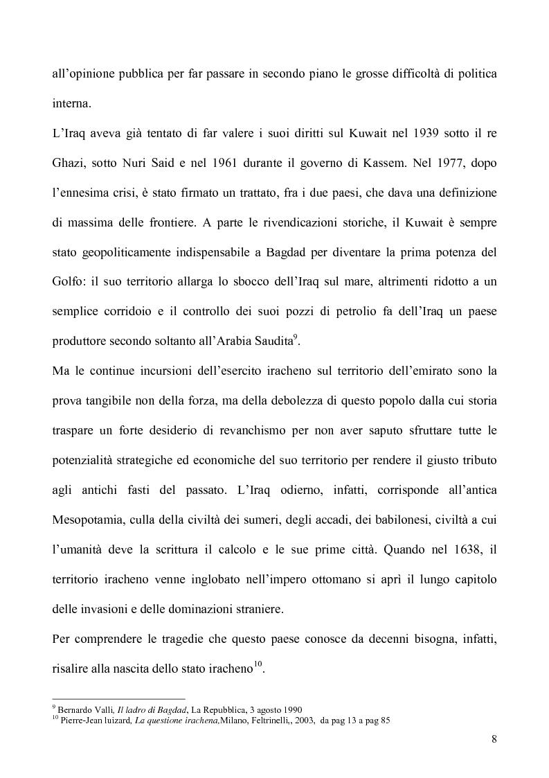 Anteprima della tesi: Un caso di uso pubblico della storia: l'applicazione del paradigma antifascista alla guerra del Golfo del 1991, Pagina 8