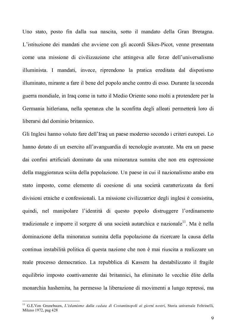 Anteprima della tesi: Un caso di uso pubblico della storia: l'applicazione del paradigma antifascista alla guerra del Golfo del 1991, Pagina 9