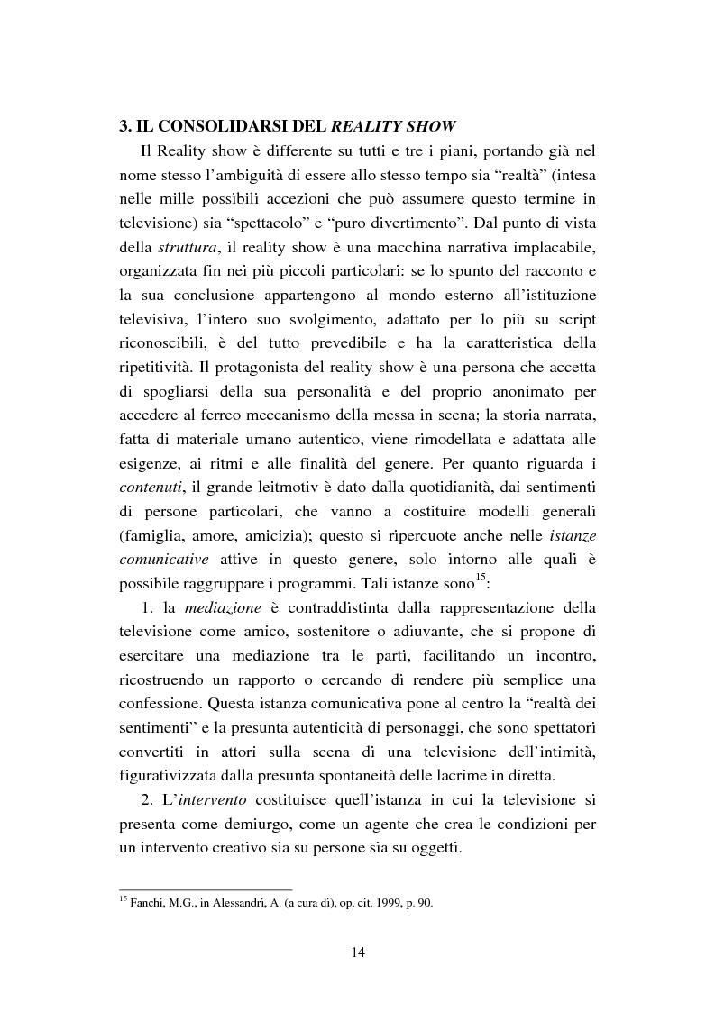 Anteprima della tesi: Changing Rooms. Dal format inglese alla ri- produzione italiana, Pagina 14