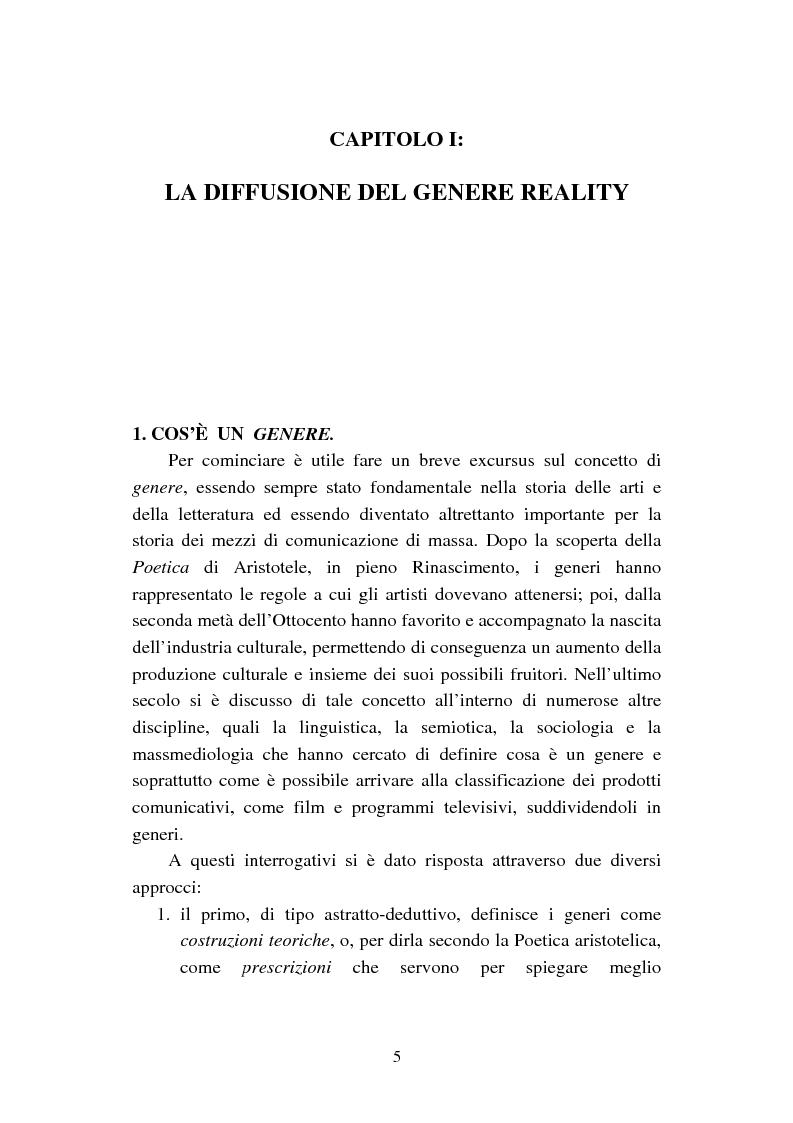Anteprima della tesi: Changing Rooms. Dal format inglese alla ri- produzione italiana, Pagina 5