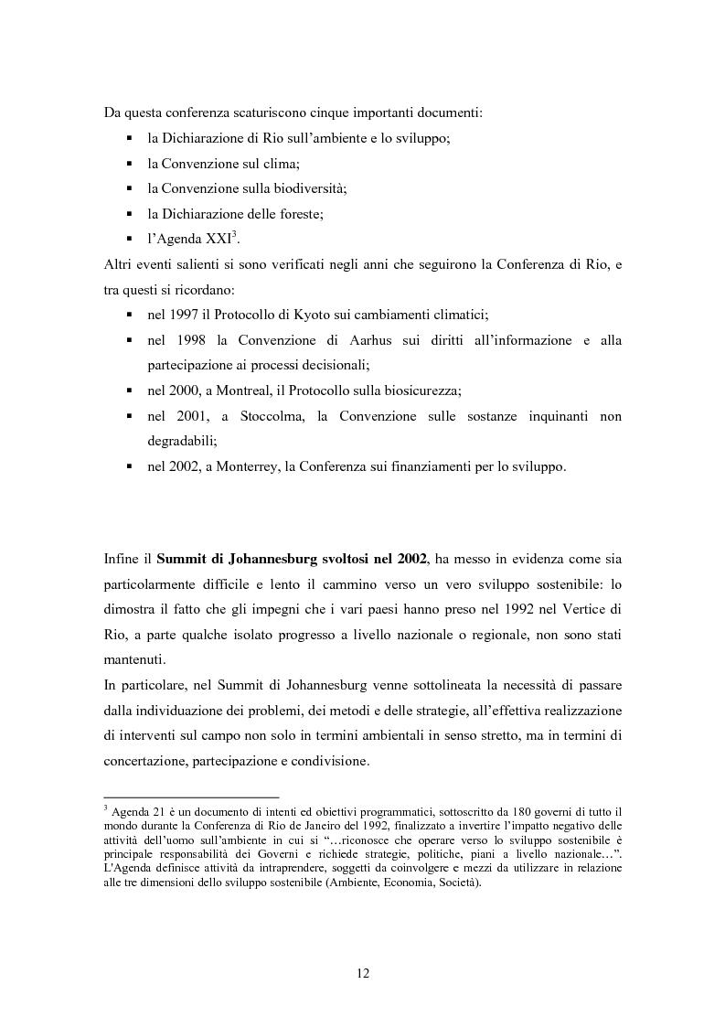 Anteprima della tesi: Rating ambientale di credito. Nuovi strumenti per misurare il rischio ambientale d'impresa nelle istruttorie di fido alla luce del Nuovo accordo di Basilea, Pagina 10