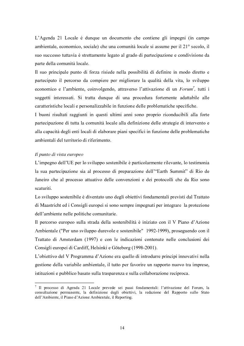 Anteprima della tesi: Rating ambientale di credito. Nuovi strumenti per misurare il rischio ambientale d'impresa nelle istruttorie di fido alla luce del Nuovo accordo di Basilea, Pagina 12