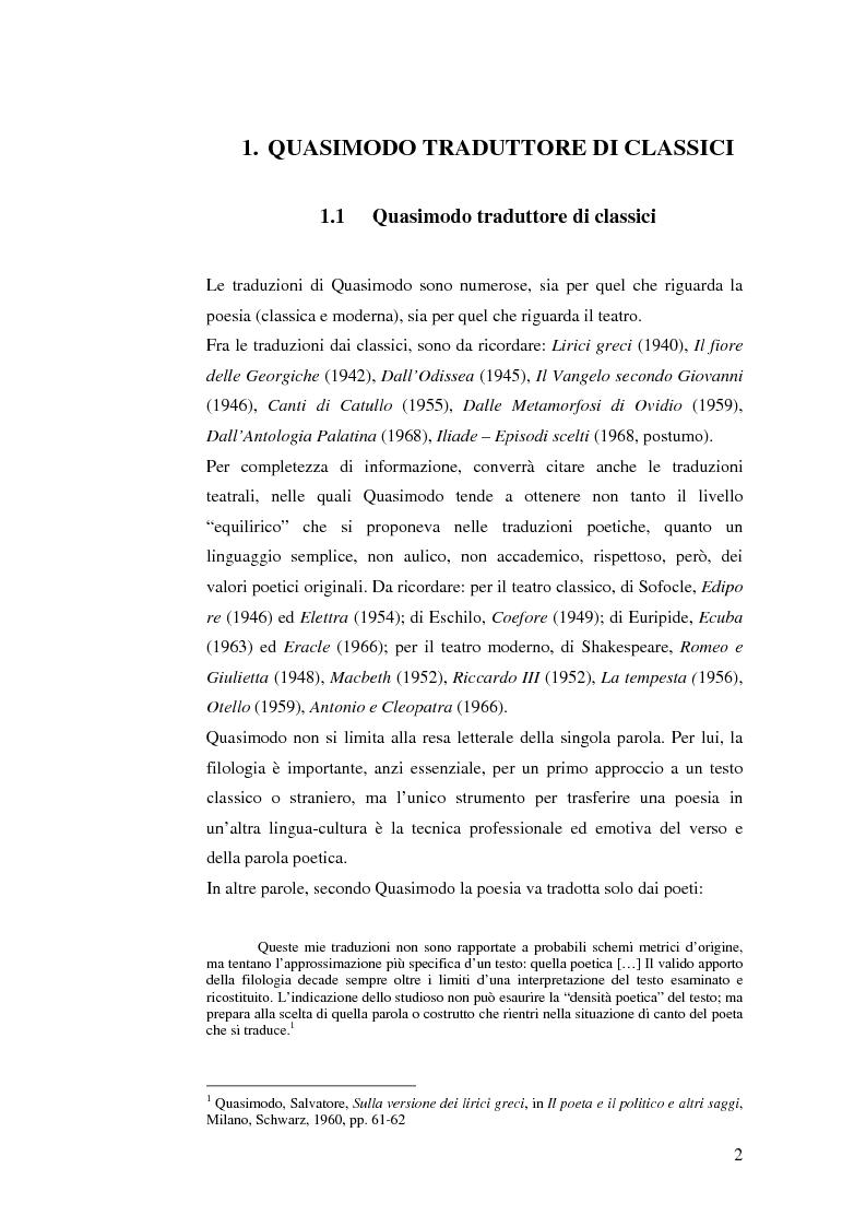 Anteprima della tesi: Quasimodo traduttore di Neruda, Pagina 2