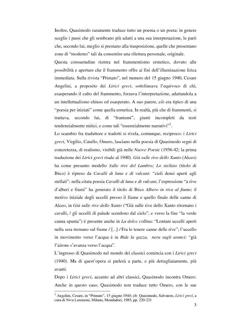 Anteprima della tesi: Quasimodo traduttore di Neruda, Pagina 3