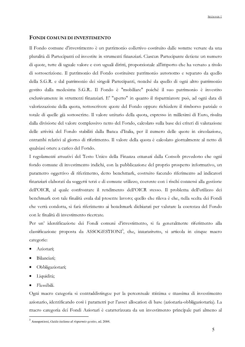 Anteprima della tesi: Strumenti di investimento nel mercato azionario europeo: un confronto tra Fondi di investimento ed ETF, Pagina 3