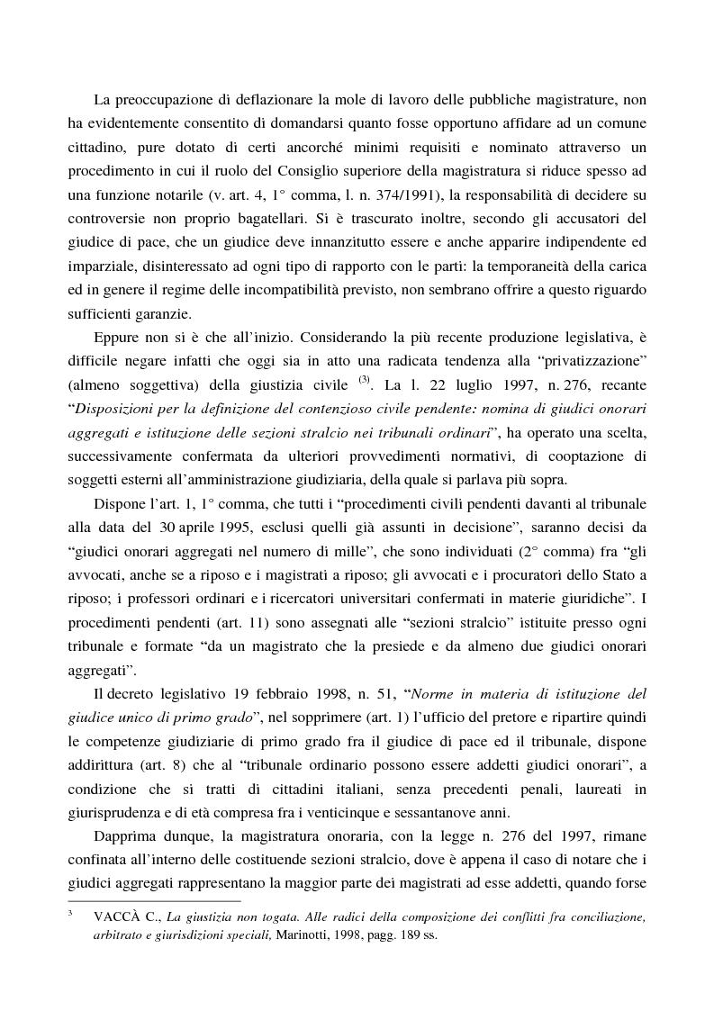 Anteprima della tesi: Arbitrato e funzione giurisdizionale, Pagina 3