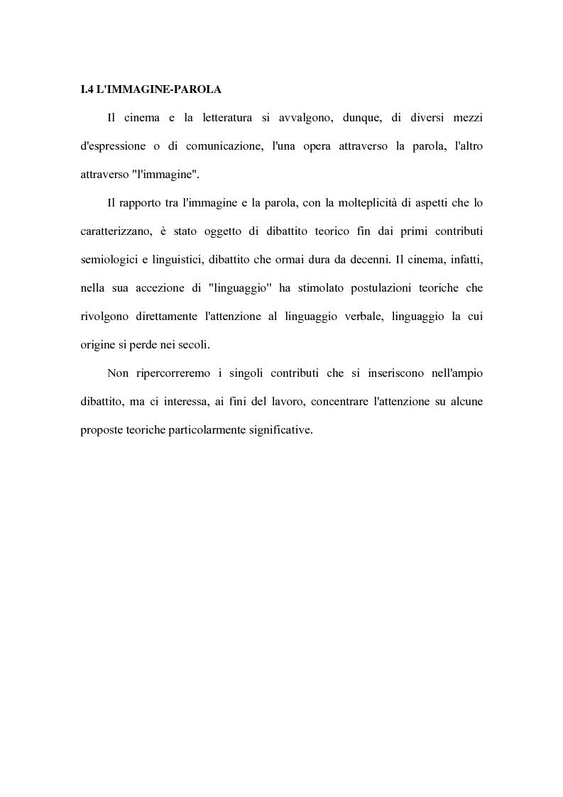 Anteprima della tesi: Cinema e letteratura: due immagini di C. S. Lewis, Pagina 14