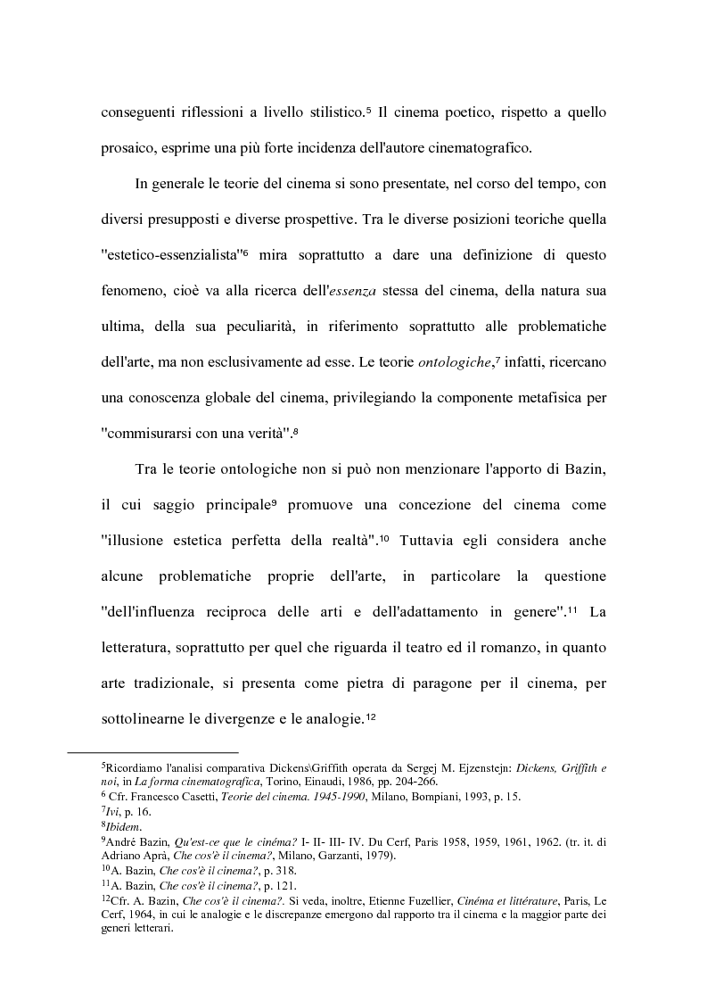 Anteprima della tesi: Cinema e letteratura: due immagini di C. S. Lewis, Pagina 4