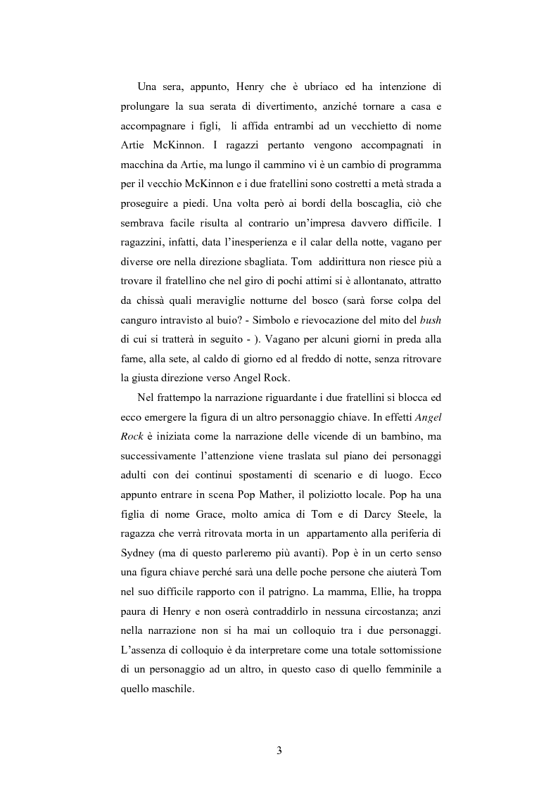 Anteprima della tesi: ''Angel Rock'' di Darren Williams. Traduzione e Analisi Stilistica., Pagina 3
