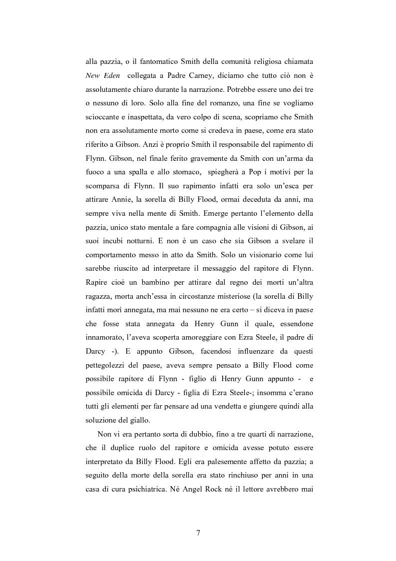 Anteprima della tesi: ''Angel Rock'' di Darren Williams. Traduzione e Analisi Stilistica., Pagina 7