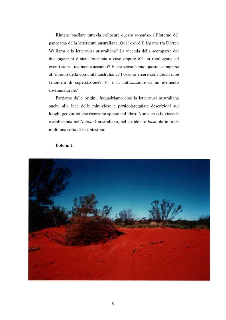 Anteprima della tesi: ''Angel Rock'' di Darren Williams. Traduzione e Analisi Stilistica., Pagina 9