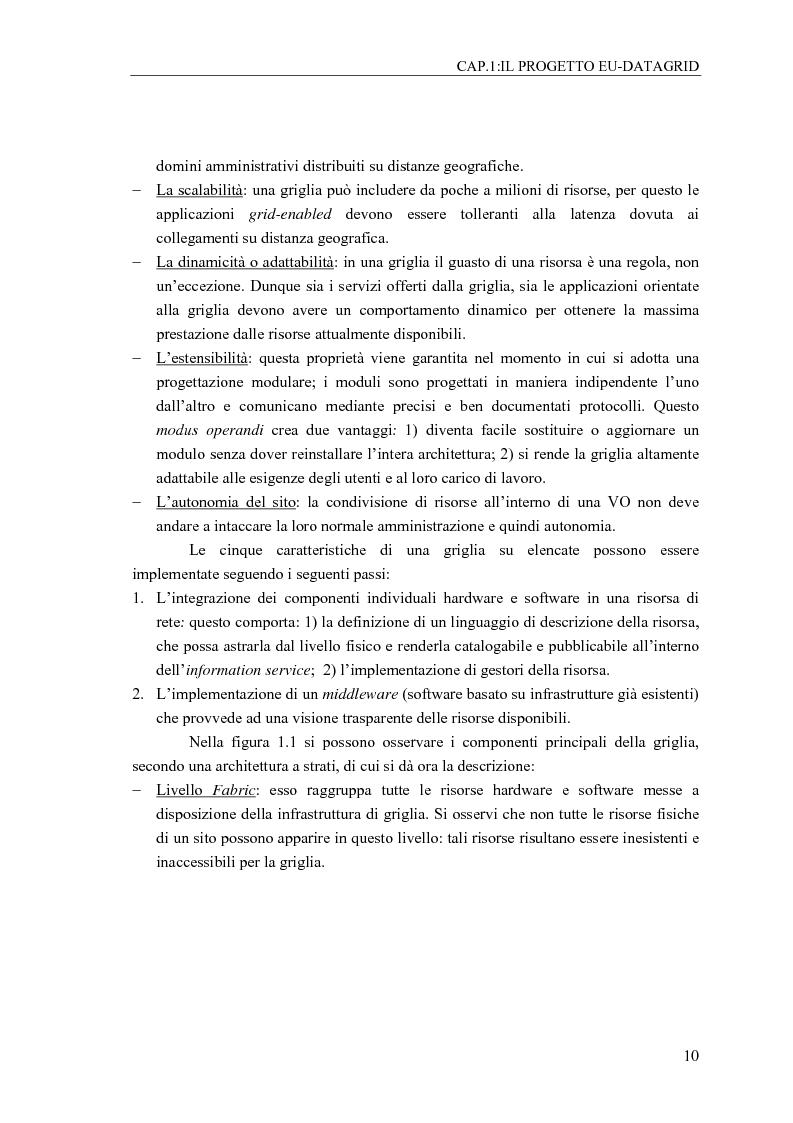 Anteprima della tesi: Determinazione mediante Reti Neurali del profilo dell'Utente di una computing grid, Pagina 5