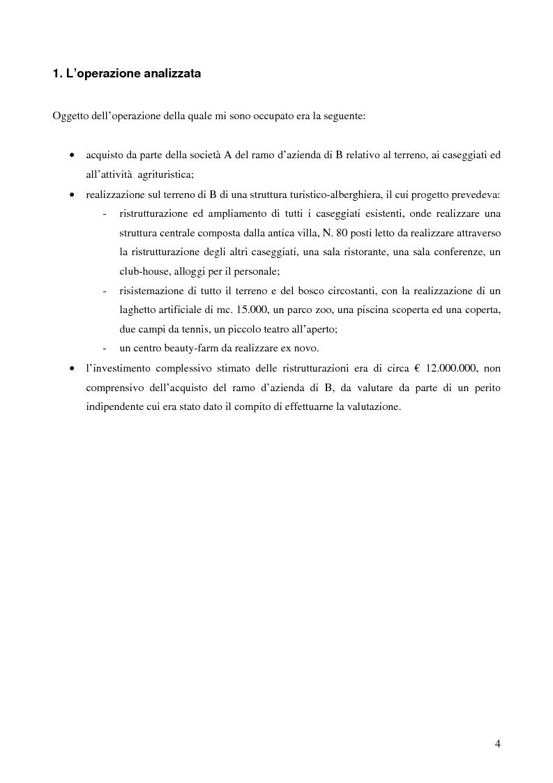 Anteprima della tesi: Fusioni, acquisizioni, conferimenti, scissioni e alleanze: approccio strategico-finanziario-organizzativo per la creazione di valore. L'esperienza nel business Immobiliare, Pagina 2