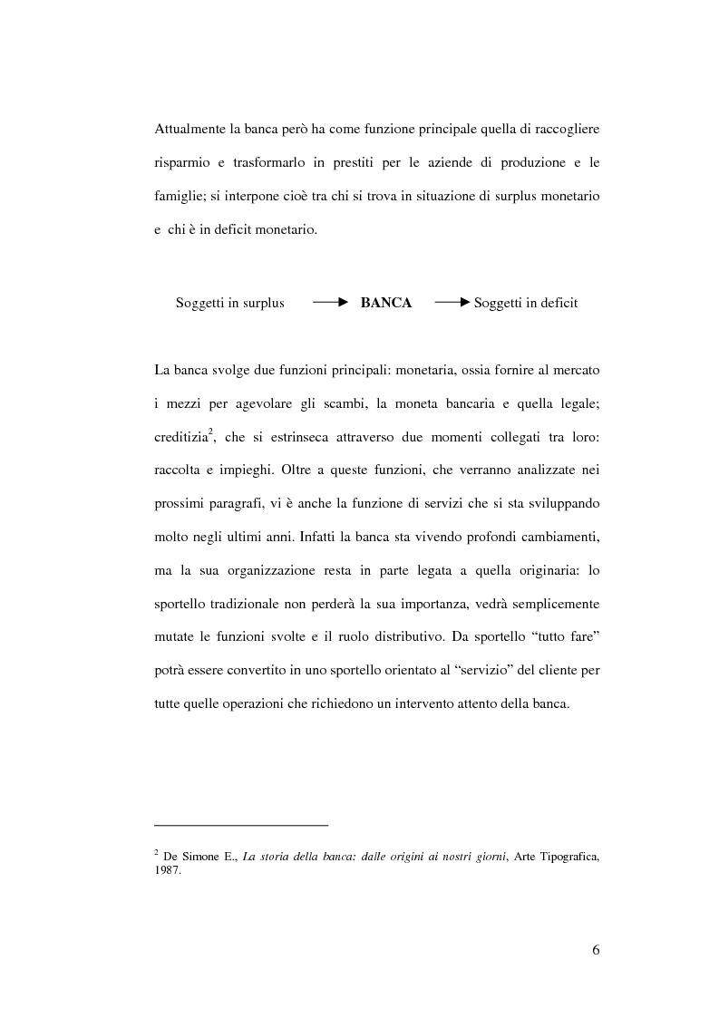 Anteprima della tesi: L'impatto di Internet sul sistema competitivo bancario: nuovi servizi e nuove opportunità, Pagina 6