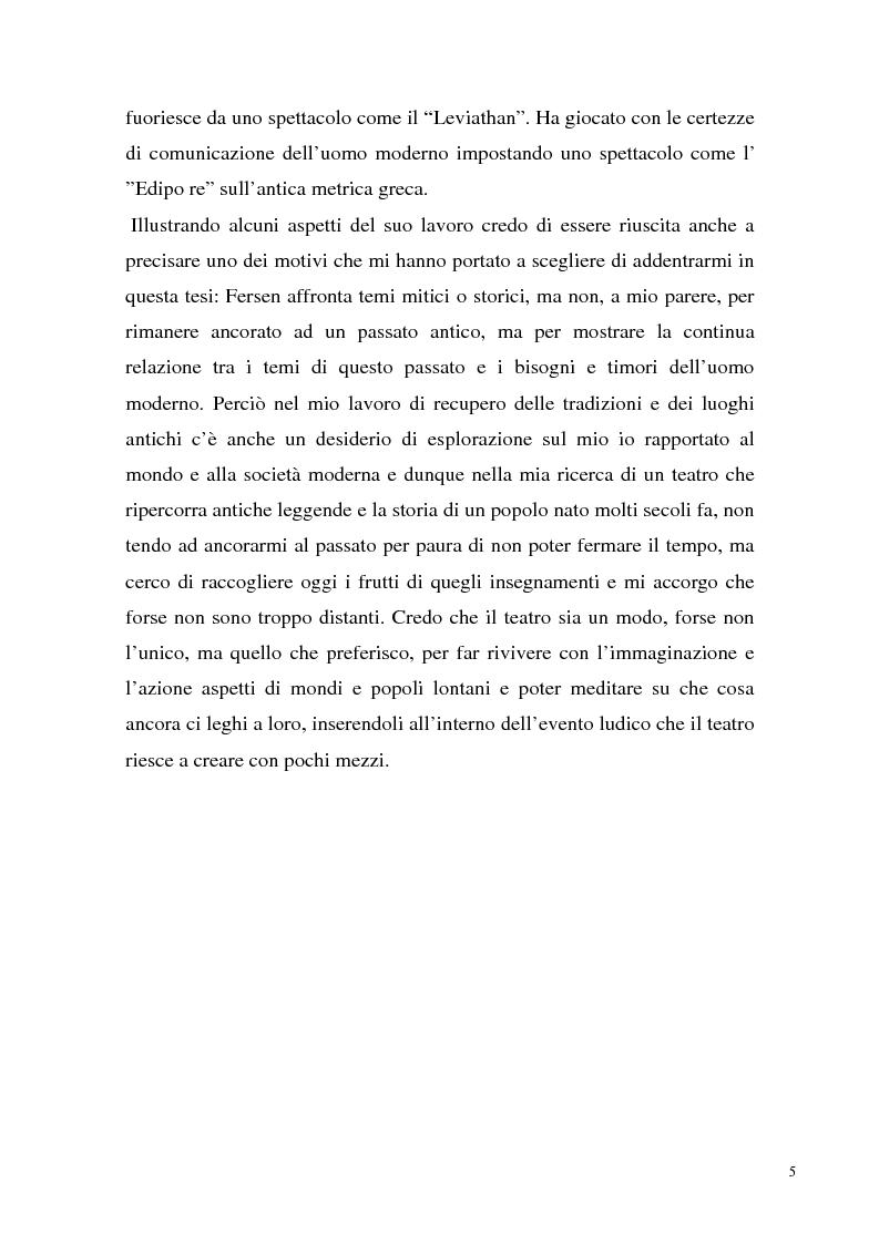 Anteprima della tesi: Fersen, ovvero il ritorno al rito, Pagina 8