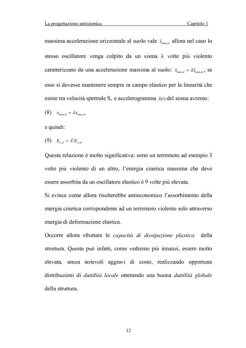 Anteprima della tesi: La 'gerarchia delle resistenze' nella progettazione antisismica, Pagina 12