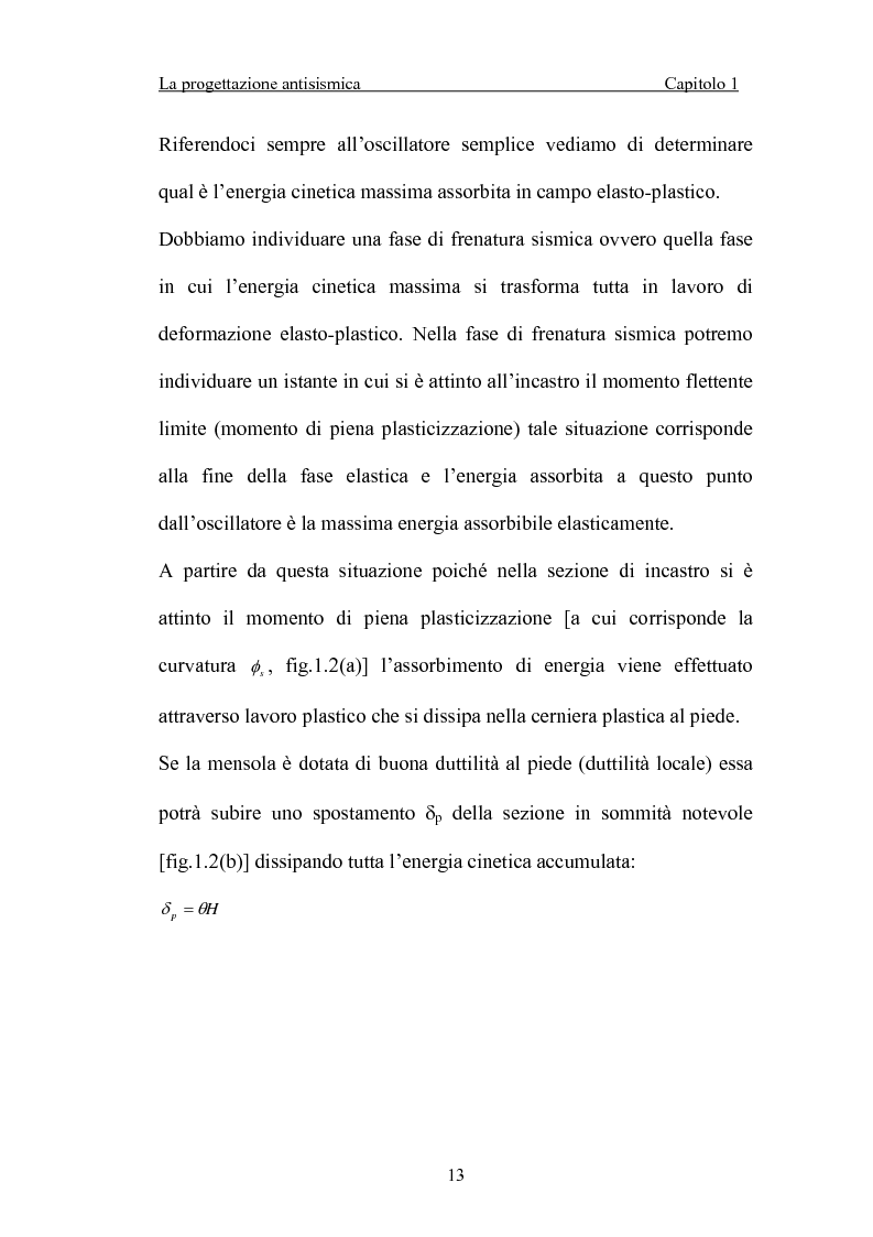 Anteprima della tesi: La 'gerarchia delle resistenze' nella progettazione antisismica, Pagina 13