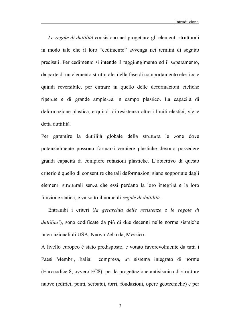 Anteprima della tesi: La 'gerarchia delle resistenze' nella progettazione antisismica, Pagina 3