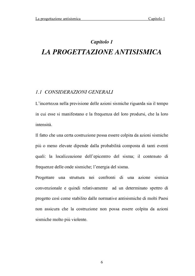 Anteprima della tesi: La 'gerarchia delle resistenze' nella progettazione antisismica, Pagina 6
