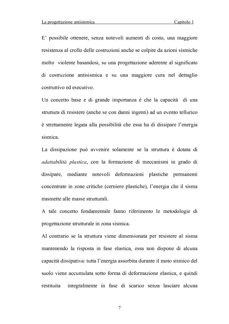 Anteprima della tesi: La 'gerarchia delle resistenze' nella progettazione antisismica, Pagina 7