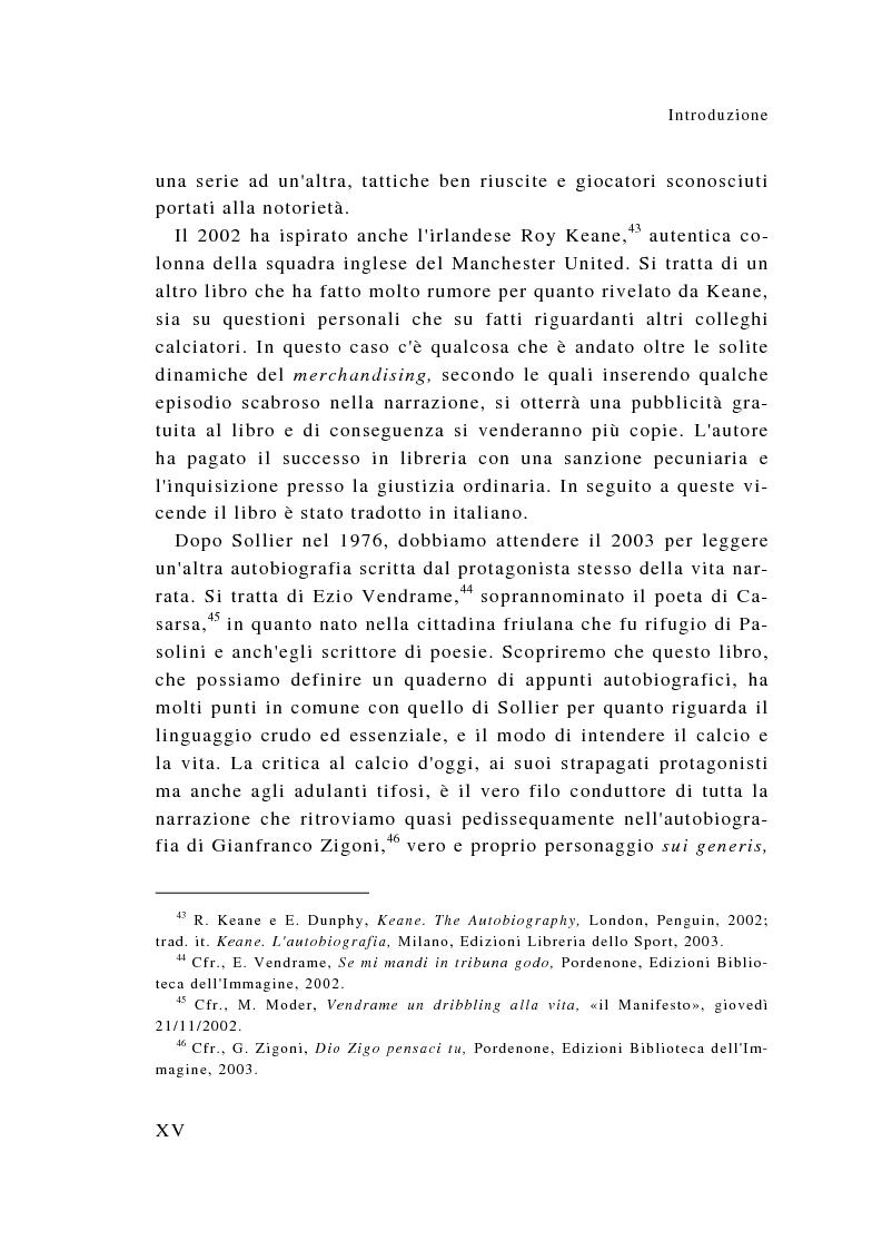 Anteprima della tesi: Eroi sotto dettatura: le autobiografie dei campioni dello sport, Pagina 15