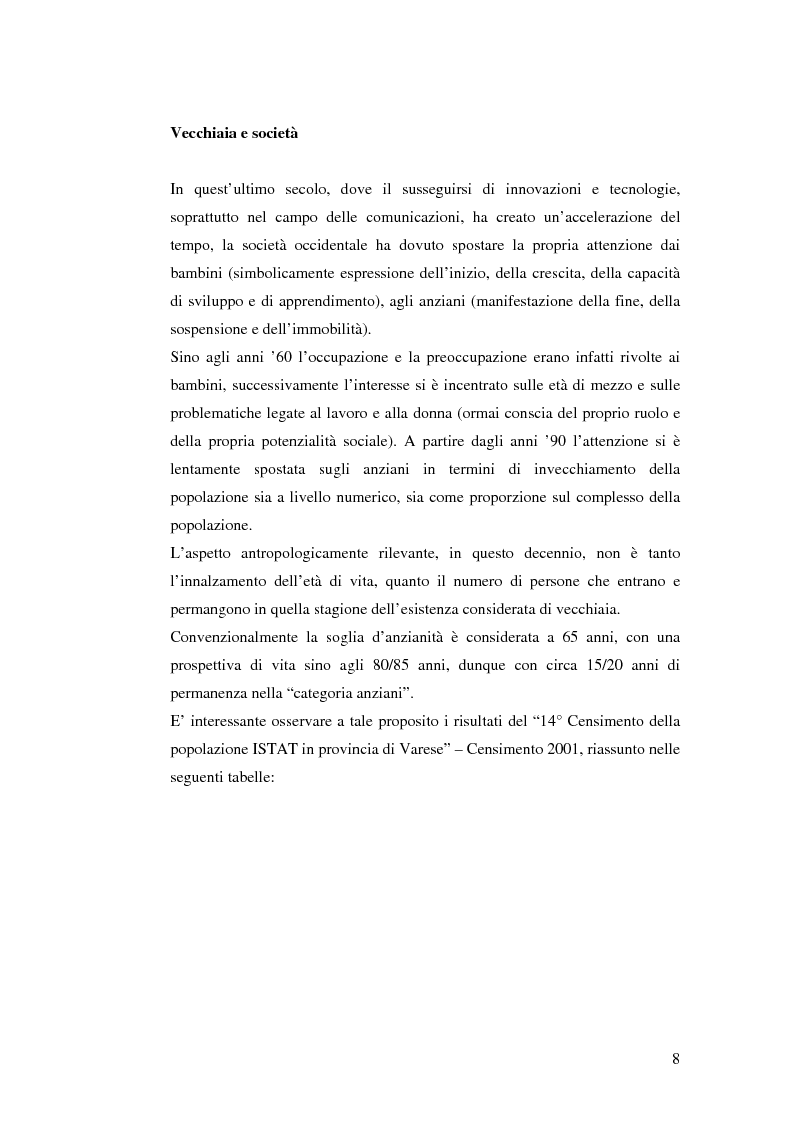 Anteprima della tesi: Identità e narrazione nell'anziano, Pagina 5