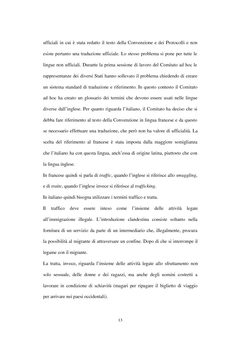 Anteprima della tesi: Il traffico degli esseri umani, Pagina 10