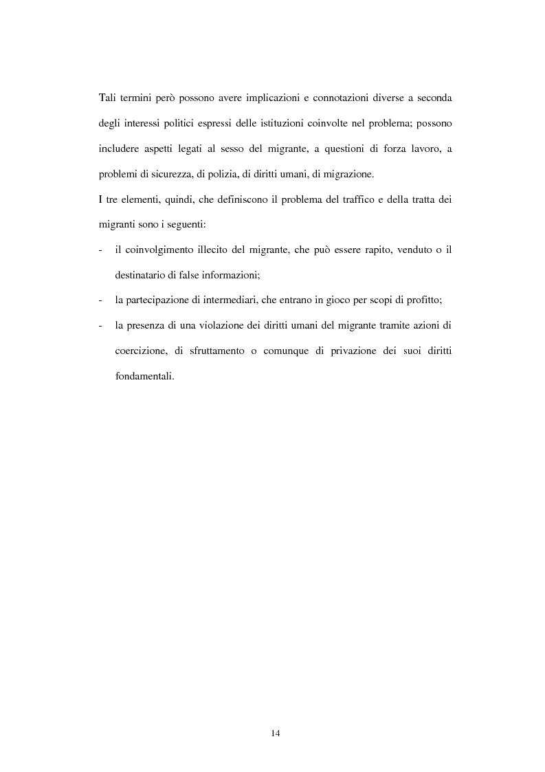 Anteprima della tesi: Il traffico degli esseri umani, Pagina 11