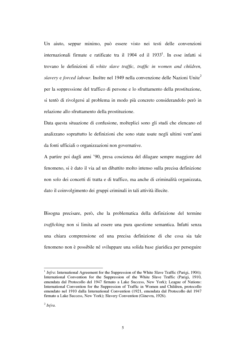 Anteprima della tesi: Il traffico degli esseri umani, Pagina 2