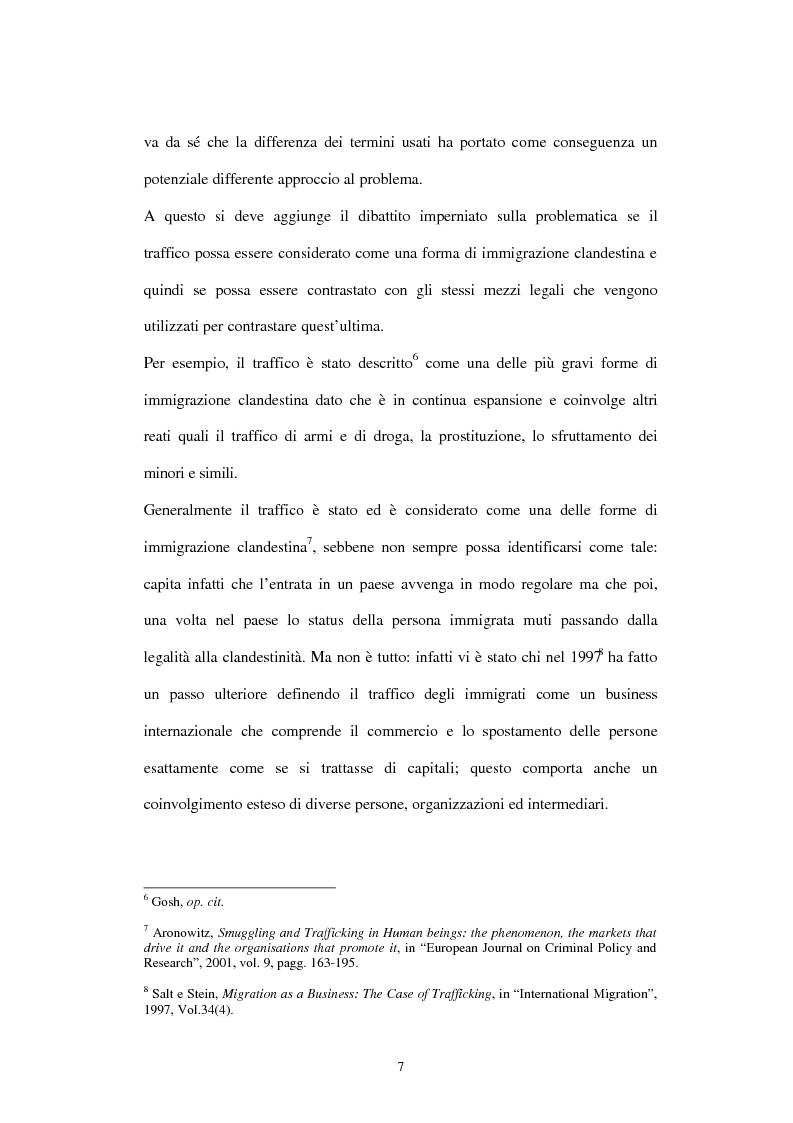Anteprima della tesi: Il traffico degli esseri umani, Pagina 4