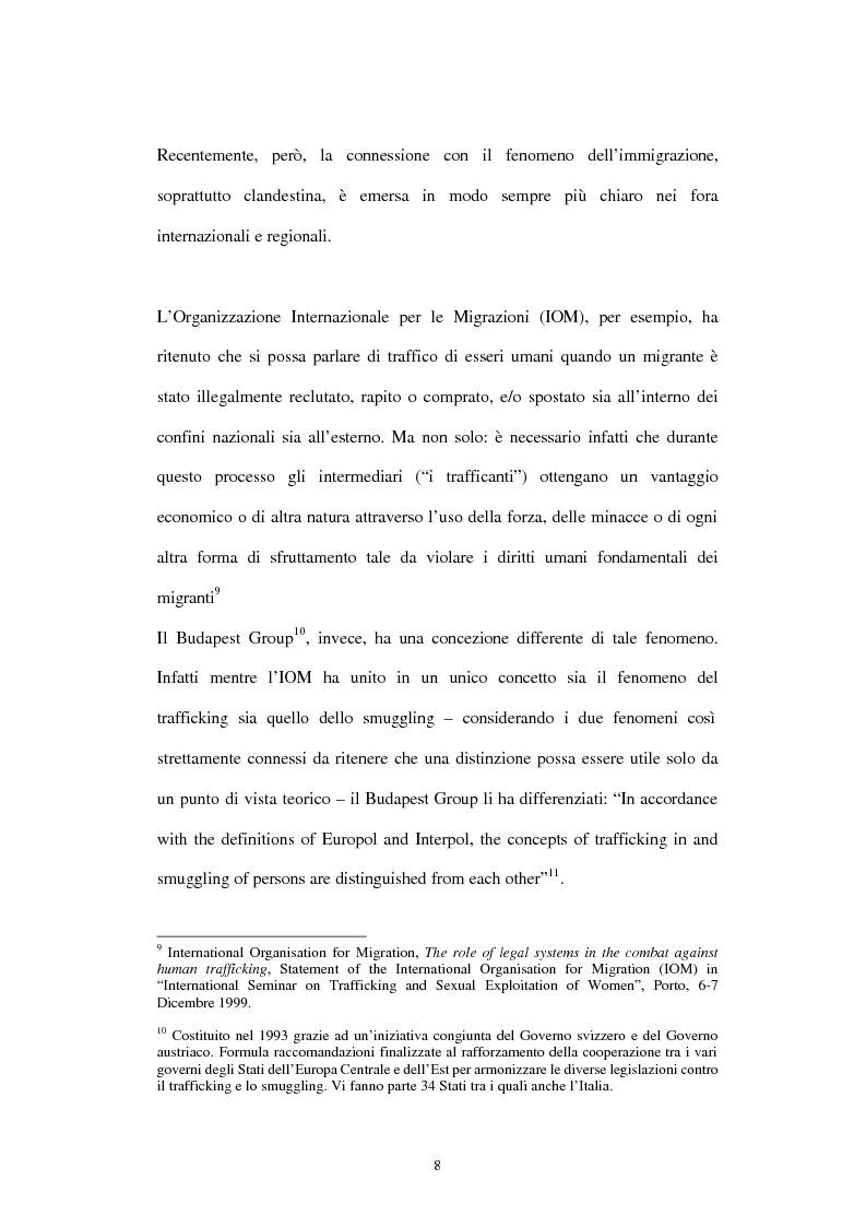 Anteprima della tesi: Il traffico degli esseri umani, Pagina 5