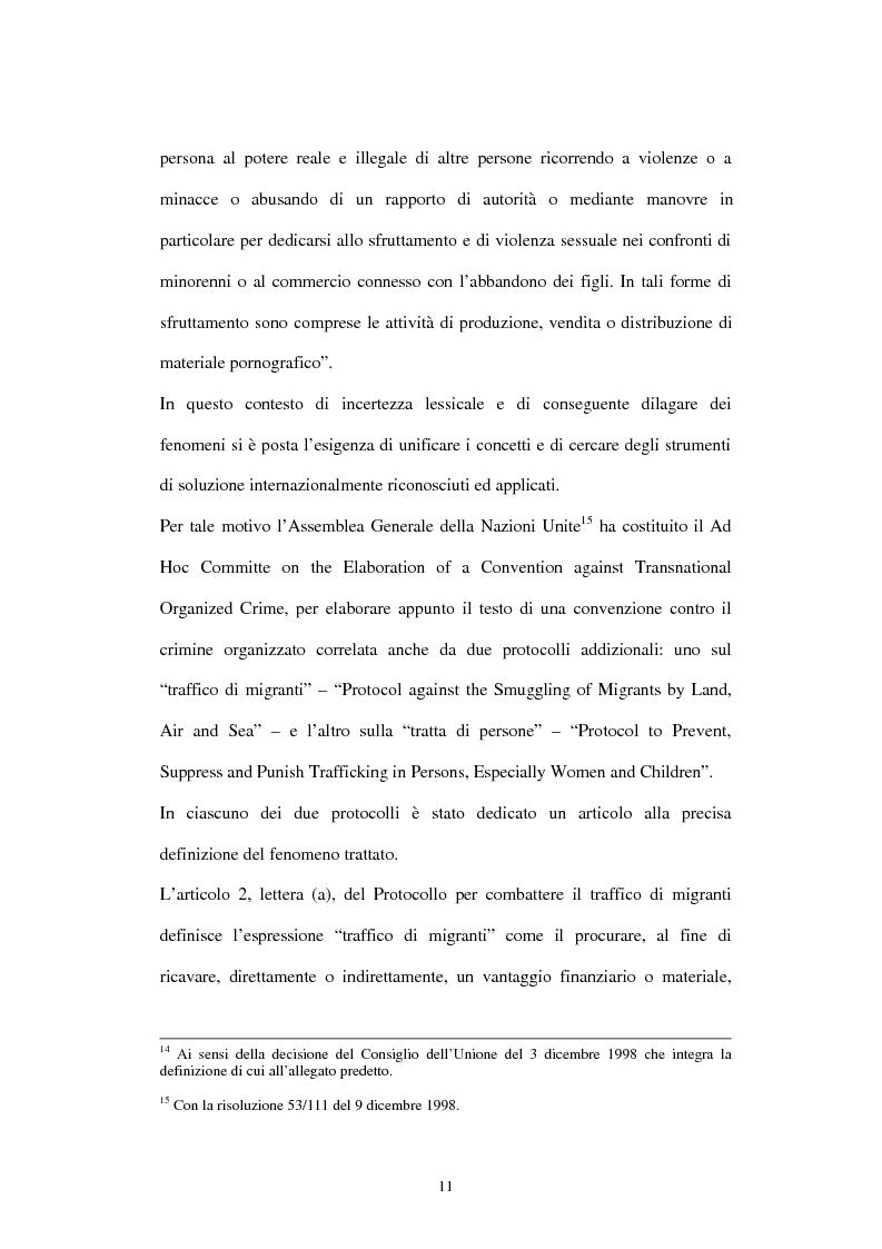 Anteprima della tesi: Il traffico degli esseri umani, Pagina 8