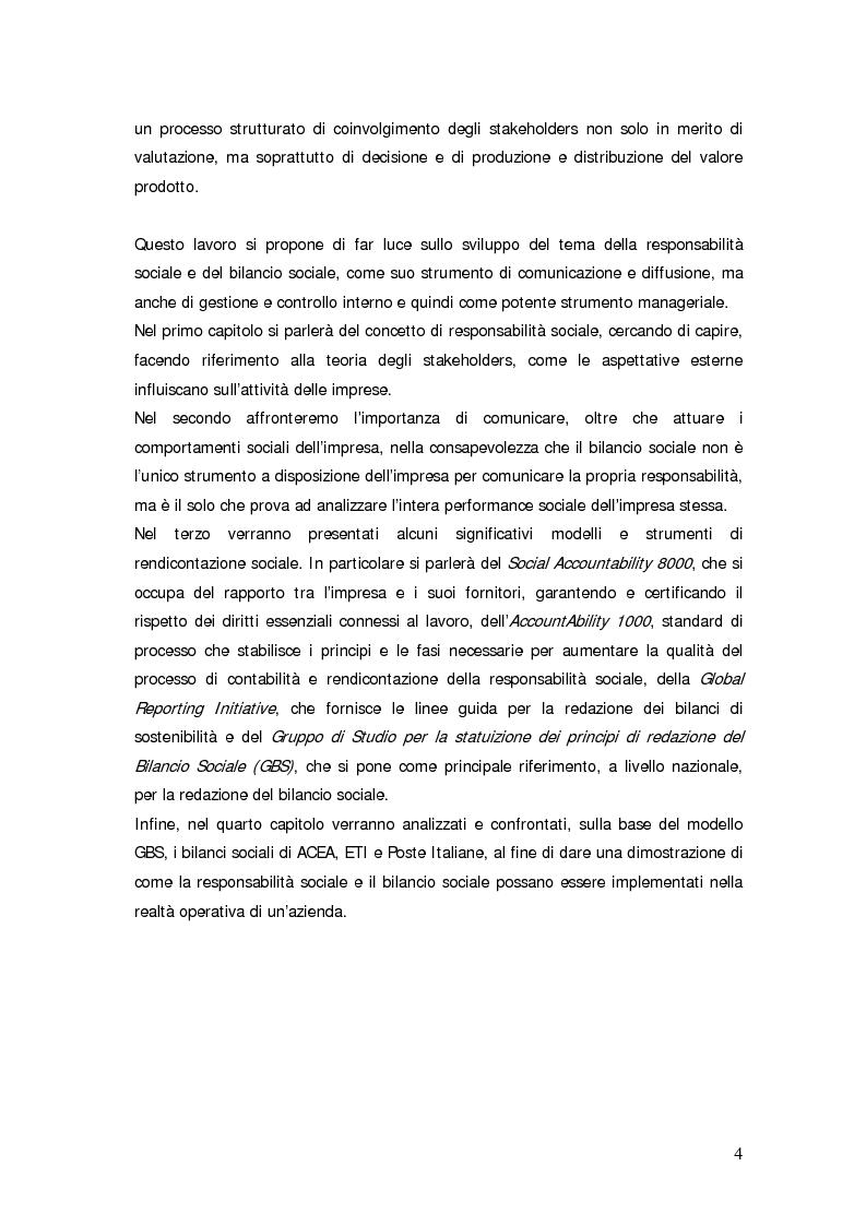 Anteprima della tesi: Il bilancio sociale d'impresa, Pagina 4