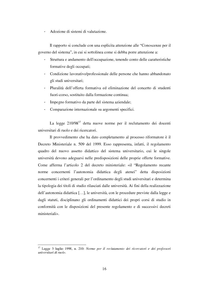 Anteprima della tesi: Metodologie e prime applicazioni sperimentali per la gestione strategica degli atenei, Pagina 13