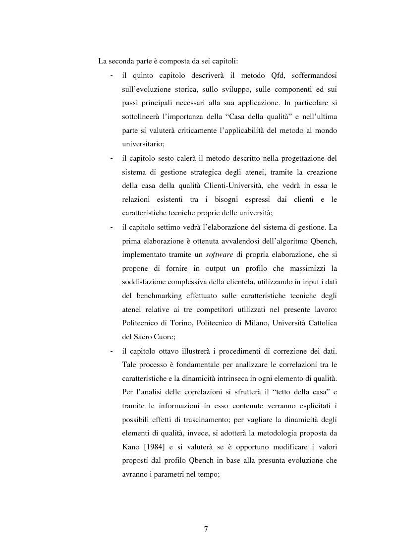 Anteprima della tesi: Metodologie e prime applicazioni sperimentali per la gestione strategica degli atenei, Pagina 4