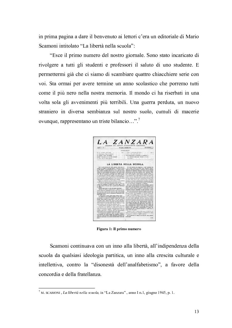 Anteprima della tesi: Il caso Zanzara: storia e cronaca, Pagina 11