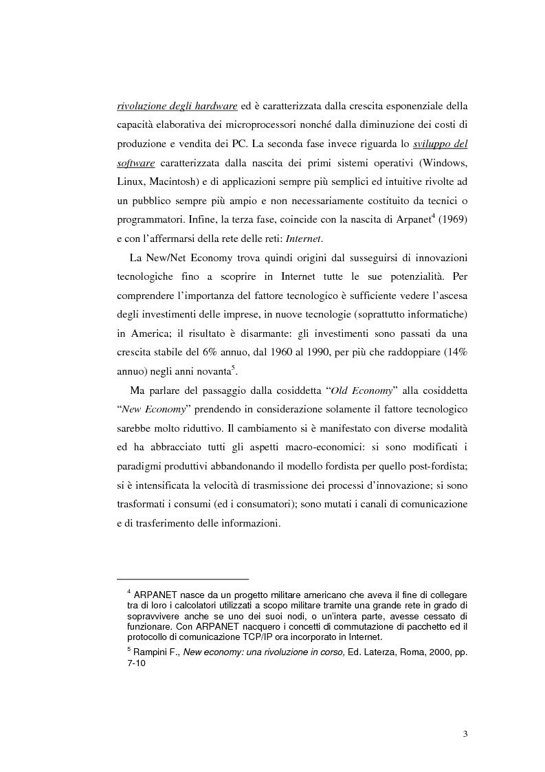 Anteprima della tesi: E-Banking : Linee strategiche ed evolutive del sistema bancario. Il caso delle banche di credito cooperativo, Pagina 8