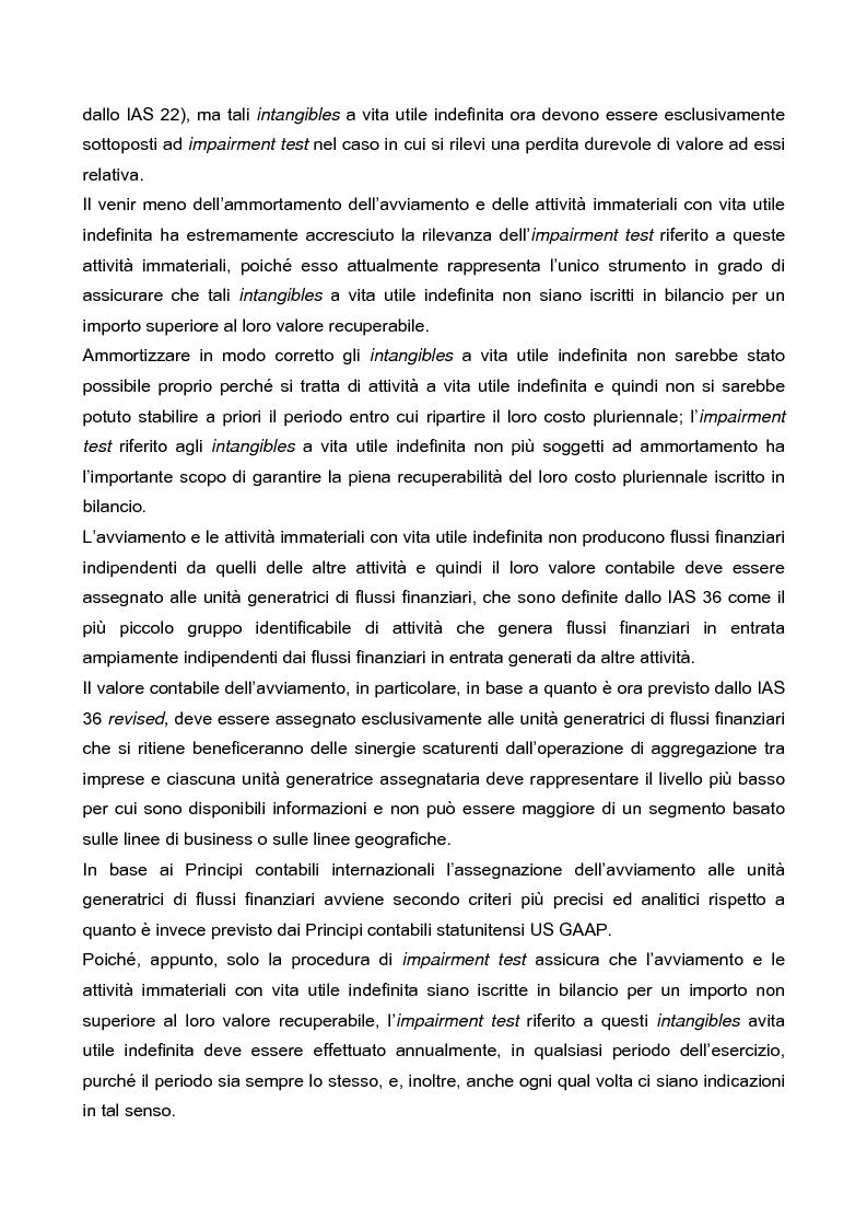 Anteprima della tesi: IAS 36 e IAS 36 revised: un confronto, Pagina 2