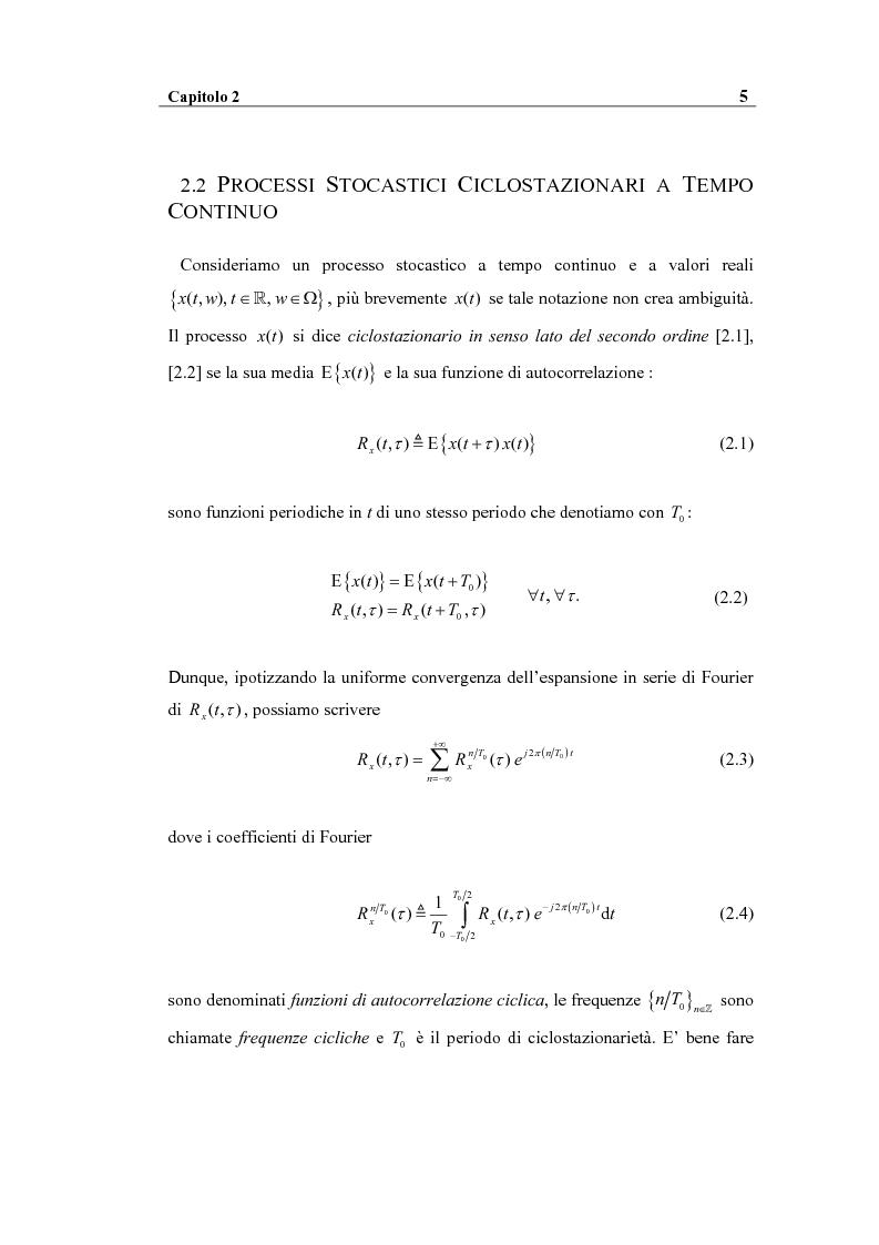 Anteprima della tesi: Analisi spettrale ciclica di segnali per telecomunicazioni: segnale ASK, Pagina 5