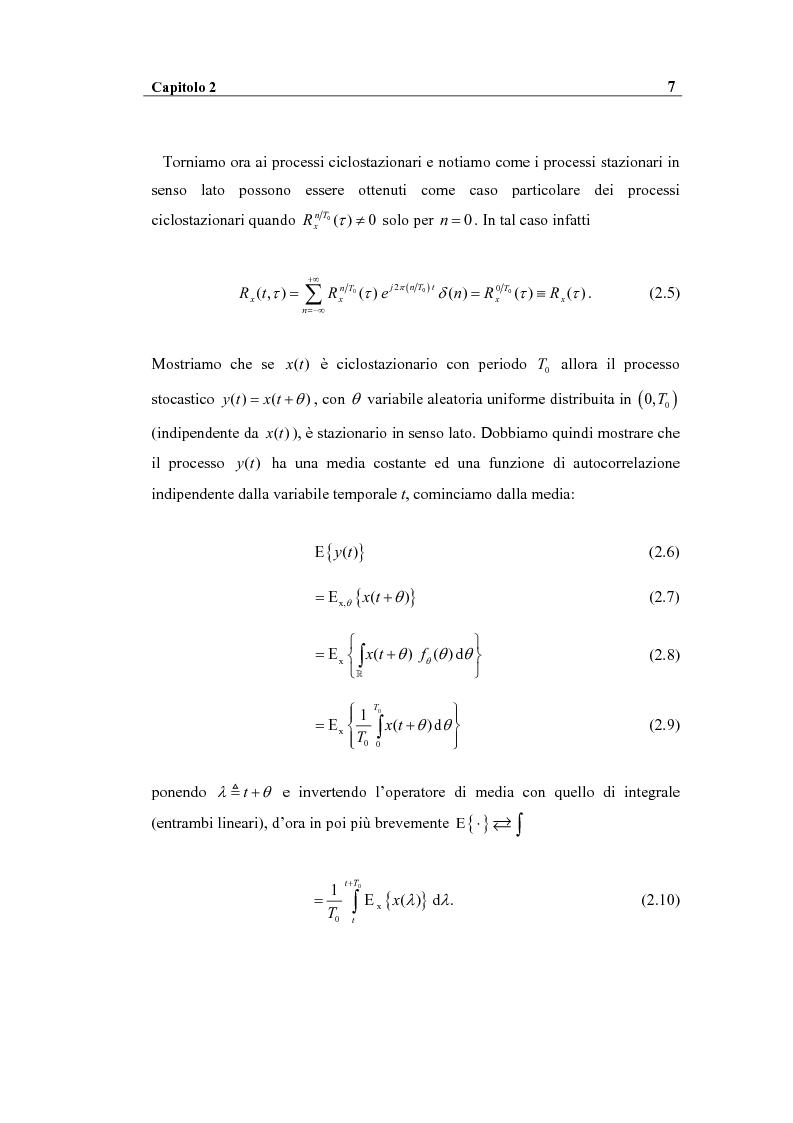 Anteprima della tesi: Analisi spettrale ciclica di segnali per telecomunicazioni: segnale ASK, Pagina 7