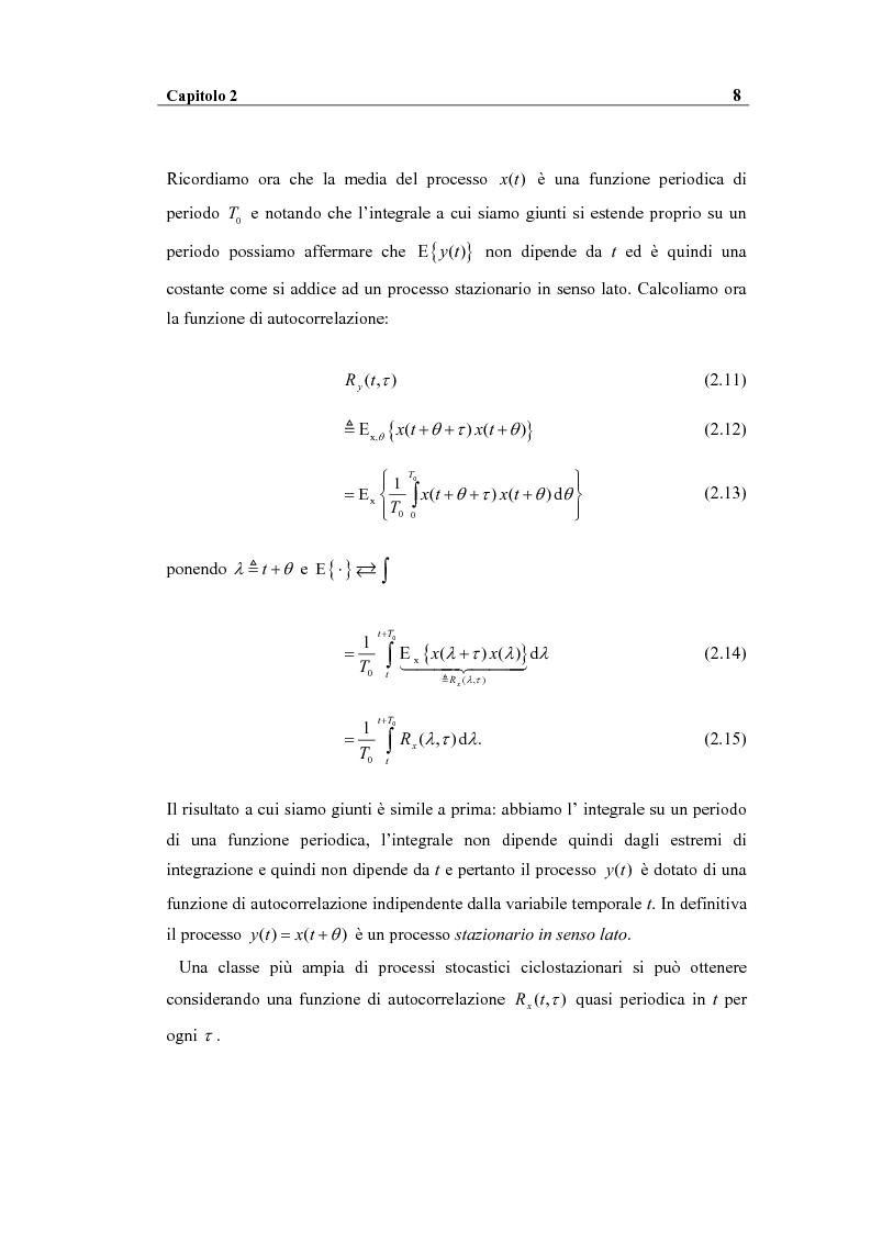 Anteprima della tesi: Analisi spettrale ciclica di segnali per telecomunicazioni: segnale ASK, Pagina 8