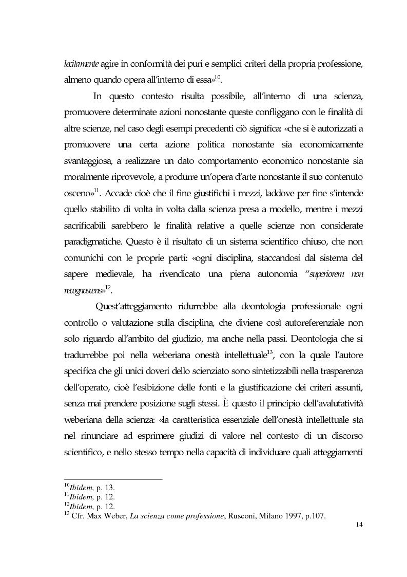 Anteprima della tesi: Sviluppo tecno-scientifico e riflessione bioetica, Pagina 13
