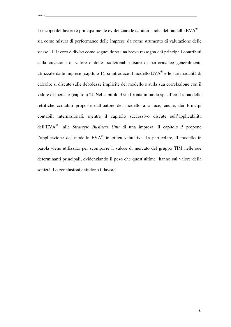 Anteprima della tesi: La scomposizione del valore di mercato di una Growth Stock., Pagina 3